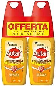 Autan Insetto Repellente Spray, 2 x 100ml