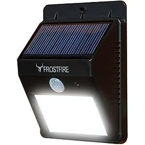 Frostfire Lumière LED solaire sans fil avec détecteur de mouvement