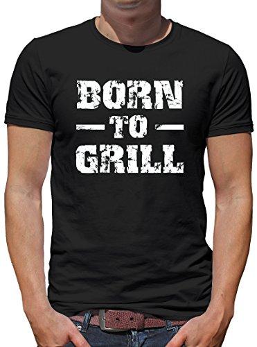 TLM Born to Grill T-Shirt Herren XXXL Schwarz