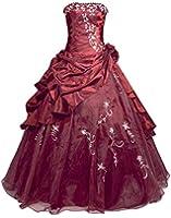 Faironly R37 Frauen Trägerlosen Abendkleid Ballkleid