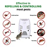 Luvina Electronic Pest Control Ultrasonic Repellent, Indoor Plug in Ultrasonic Pest Repellent