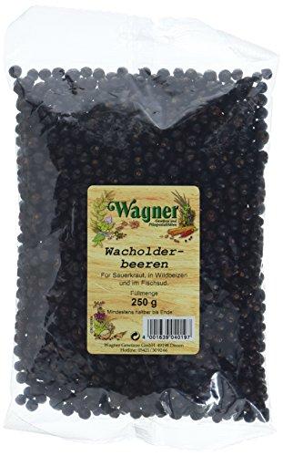 Wacholderbeeren Tee (Wagner Gewürze Wacholderbeeren, 250 g)