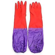 Bluelover Pulizia Lavare cashmere maniche lunghe in Gomma Guanti in lattice - Commerciale Spargisale