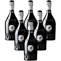 Sior Sandro Prosecco Extra Dry DOC Vineyeards V8+ 6 botellas 75 cl.