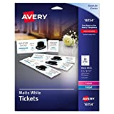 Best Avery Pencil Boxes - Avery 16154 Tickets with Tear-Away Stubs, 1 .75 Review
