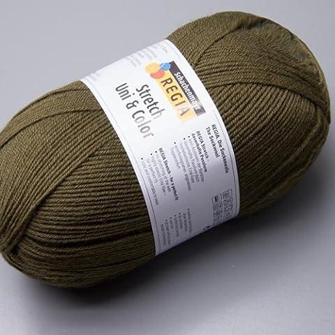 Regia 4-fädig Uni & Color Stretch 1466 100g Sockenwolle