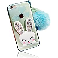 Sunroyal® iphone SE 5 5S 5G Cover 3D Lovely Coniglio