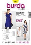 Burda Schnittmuster Kleid/Shirt mit V-Ausschnitt