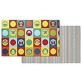 Skip Hop 243101 Reversible Zoo Playmats, mehrfarbig