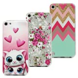 3x Coque iPod Touch 5/6, Beaulife Etui Silicone IMD Technologie Anti-rayures TPU...