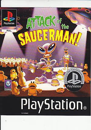 Attack of the Saucerman