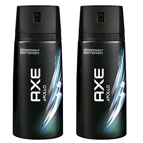 Axe Déodorant Homme Spray Anti Transpirant Apollo 150ml - Lot de 2