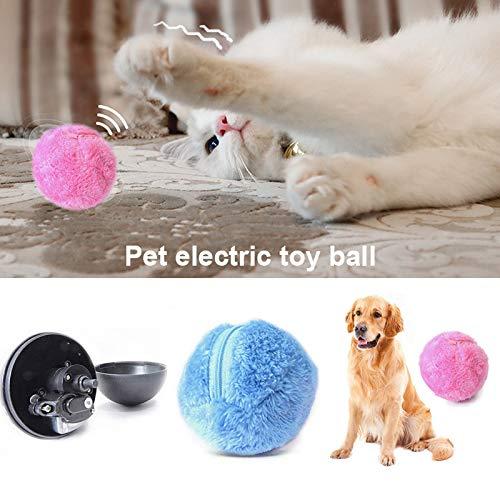 Alextry - Pelota de Juguete para Perro, Gato, Mascota, Juguete para el hogar, Bola limpiadora de Polvo