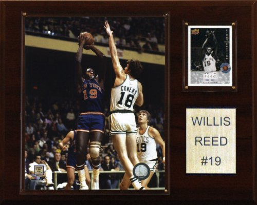 C & I Collectables NBA Willis Reed New York Knicks Spieler Plaque
