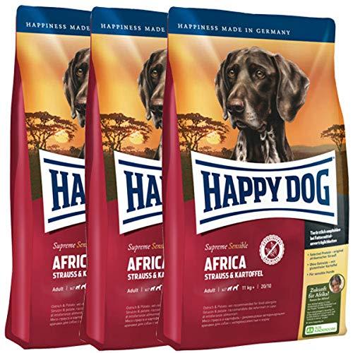 Happy Dog 12 Kg = 3 x 4 kg Supreme Sensible Africa