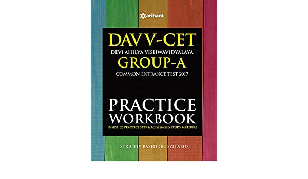 Buy DAVV CET Group-A Practice Workbook 2017 Book Online at Low