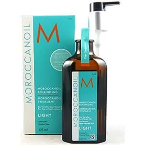 Moroccanoil Arganöl LIGHT für feines, helles und hell-coloriertes Haar (125ml Sondergröße (limited Edition))