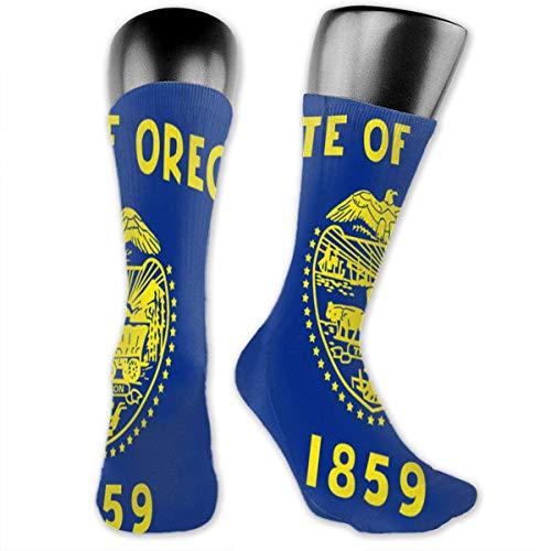 Of Oregon Unisex Casual Crew Socken Daily Sports Socken grey Socken ()