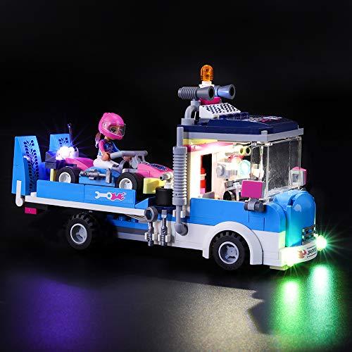 LIGHTAILING Conjunto de Luces (Friends Camión de Asistencia y Mantenimiento) Modelo de Construcción de Bloques - Kit de luz LED Compatible con Lego 41348 (NO Incluido en el Modelo)
