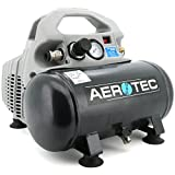 Aerotec Kompressor Airliner Silent 140L/70L/6L/8bar/0,4kW tragbar 230V 50Hz - 20160426