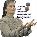 Demenz und Alzheimer vorbeugen mit Jonglieren plus 3 Jonglier-Fußbälle plus Jonglier-Anleitung: Ballgröße M (51mm/90g je Ball)