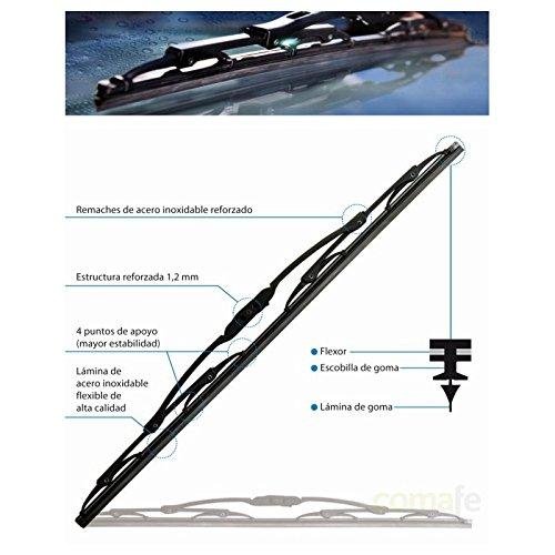 Preisvergleich Produktbild 'rolanco-12. tcu2870 KFZ Wischerblatt Scheibenwischer 28 70 cm Univ tecnocem