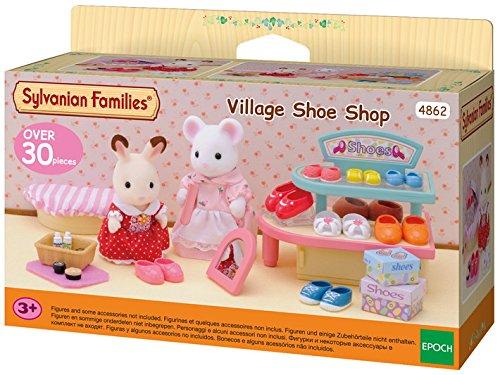 Sylvanian Families 4862 Dorfladen für Schuhe, Mehrfarbig