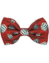 Red Dice Novelty Bow Tie
