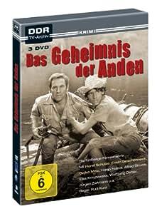 Das Geheimnis der Anden - DDR TV-Archiv ( 3 DVD's )