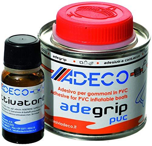 Adeco Adegrip PVC Schlauchboot Kleber 2-komponentig 530g (Schlauchboot Kleber)