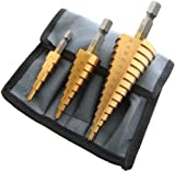 Am-Tech - Broca para superficies sólidas  (3 unidades, tamaño grande)