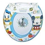 Disney Mickey Maus 'blau' Kids WC Sitz gepolstert Soft Töpfchen Training