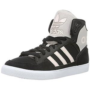 adidas Damen Extaball W Sneaker Schwarz 40
