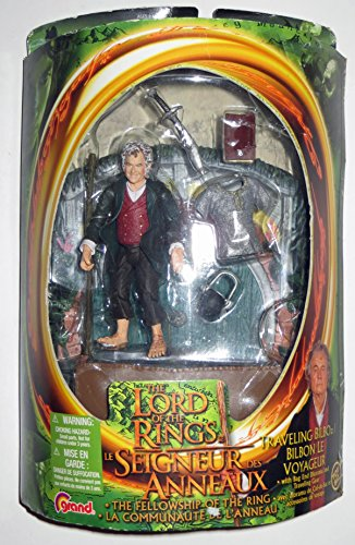De el Señor de los anillos: la Comunidad del anillo figura de acción viajar Bilbo 1