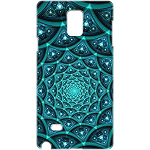 a AND b Designer Printed Mobile Back Cover / Back Case For Samsung Galaxy Note 3 (SG_N3_3D_1315)