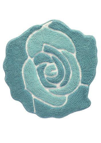 Jessica Simpson Bloom geformte Baumwolle Bad Teppich