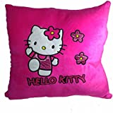 A-Mart Soft Toy Pillow High Quality Hello Kitty Dark Pink 1 For Kids Girls 13 X 13 Inch