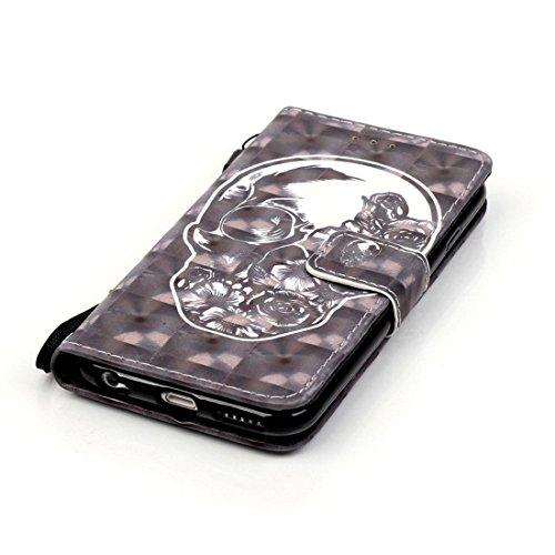 Yaking® Apple iPhone 6 Plus/6S Plus Coque, PU Portefeuille Étui Coque Stand Flip Housse Couvrir impression Case Cover pour Apple iPhone 6 Plus/6S Plus P-2