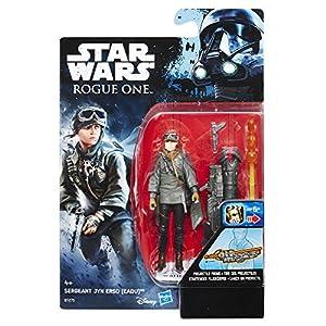 Hasbro Star Wars b7275el2-Rogue One Battle de acción Base Figuras-Sergeant jyn ERSO Figura de acción