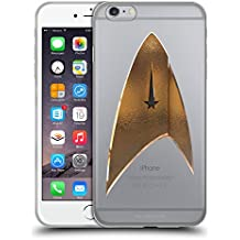 Ufficiale Star Trek Discovery Delta 2 Logo Cover Morbida In Gel Per Apple iPhone 6 Plus / iPhone 6s Plus