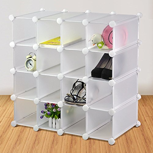 livivo-interlocking-16-pairs-cube-shoe-organizer-rack-storage-display-stand-holder-multi-use-can-be-