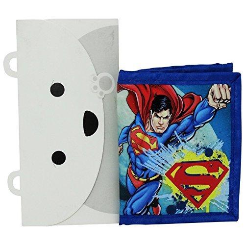 Dc Comics Superman Portefeuille Porte-Monnaie Cartes Pochette