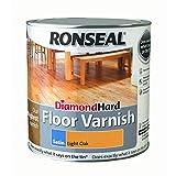 Ronseal 334302.5L Diamond Hard Boden Lack, Eiche hell glänzend