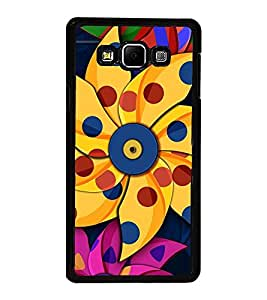 Vizagbeats Paper Pin Wheel Flower Back Case Cover For Samsung Galaxy A8