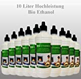 10 Liter Ethanol Brennstoff Bioethanol
