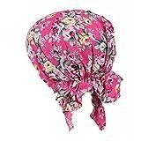 ZYCC Unisex Bandana Hut Baumwolle Gedruckt Turban Kopfbedeckung für Krebs