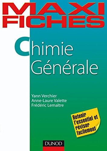 Maxi fiches de Chimie générale : En 80 fiches