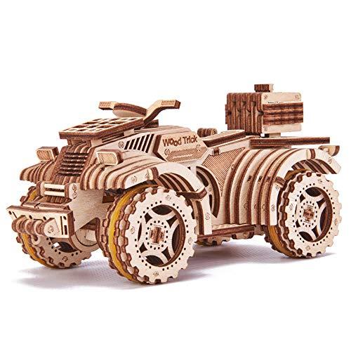 Wood Trick Holz Modell Kit - Quad Fahrrad
