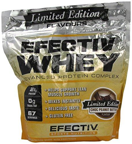 Efectiv Sports Nutrition 2Kg Choc Peanut Butter Whey Shake