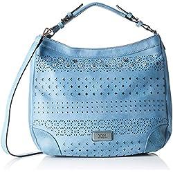 XTI 86062, Shopper para Mujer, Azul (Jeans), 31x27x12 cm (W x H x L)